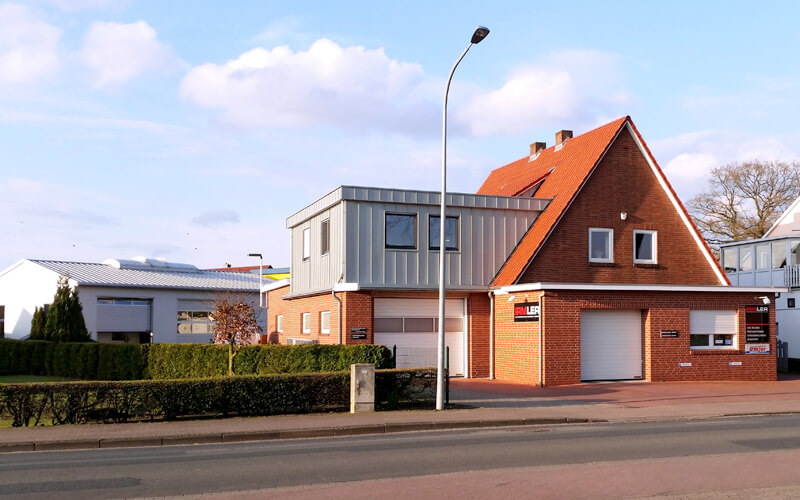 Factory building of IRMLER GmbH