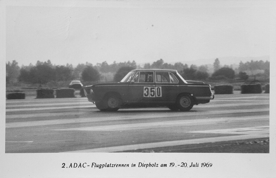 Eberhard Irmler at the Airfield Race in Diepholz in 1969