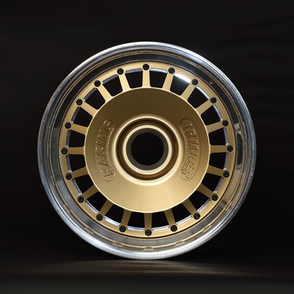 Magnesium wheel threepart 9 x 16 inch