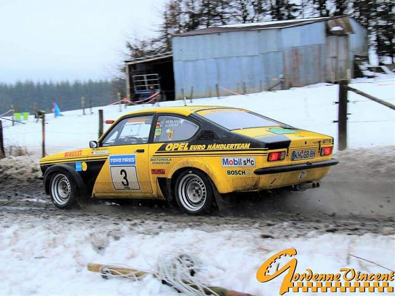 OPEL Kadett C, Group 4, Berlandy, with 15″ IRMLER racing rims