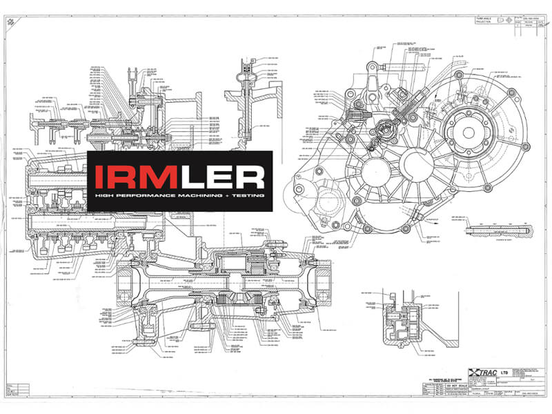 XTrac 206 gearbox parts