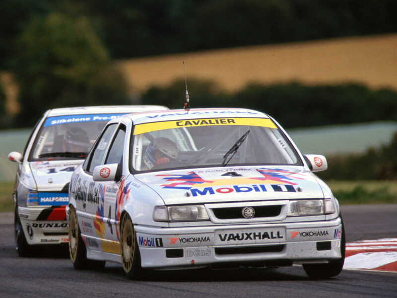 In March 1994 the Vauxhall Cavalier with Chris Goodwin was used in the Total Cup