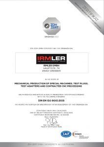 Certificate Din En Iso