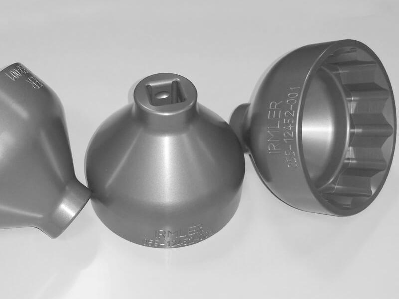 Zentralverschluss Nuß SW 90mm Alu