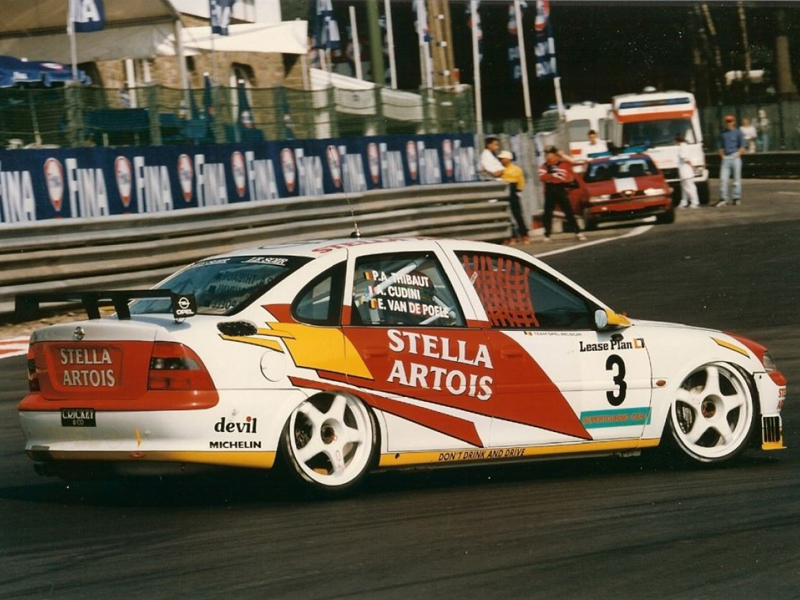 Opel Vectra Snobeck 24h Rennen Spa Francorchamps 1996