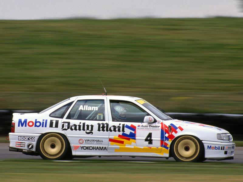 Vauxhall Cavalier aus der 1993 BTCC (British Touring Car Championship) von Jeff Allam