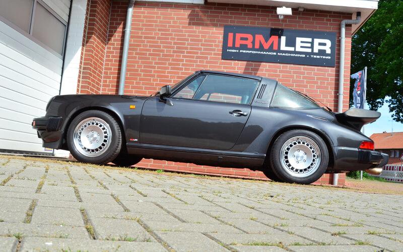 Porsche Targa blau Irmler Racing