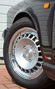 Irmler Racing Rad aus Aluminium in Porsche-Dimensionen