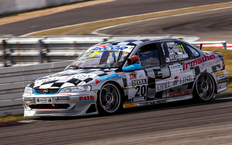 Racing Rims IRMLER RACING im Renneinsatz