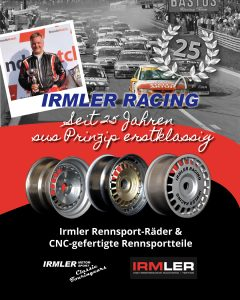 25-jähriges Jubiläum Irmler GmbH / Irmler Racing
