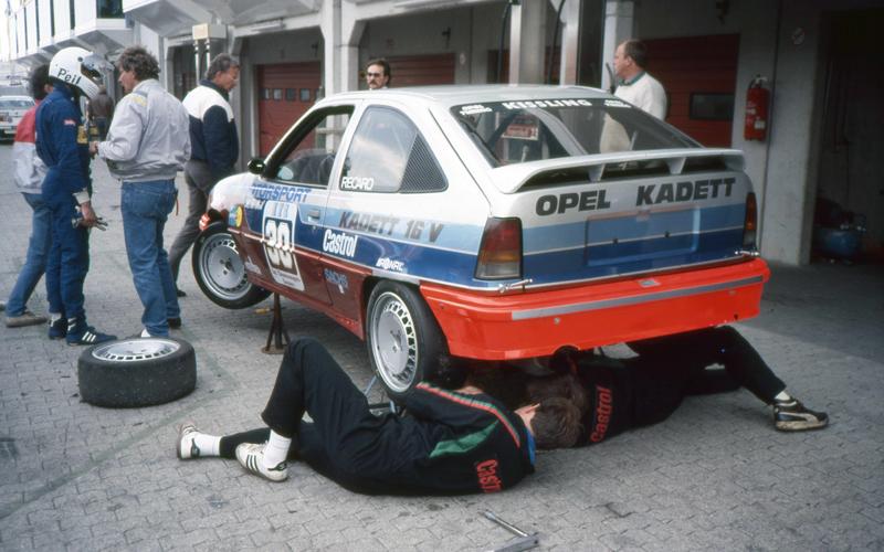 Opel Kadett GSi 16V DTM Gruppe A Heinz Friedrich Peil Testfahrten 1988