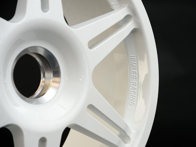Sportfelgen 19 Zoll weiß aus Aluminium von Irmler Racing