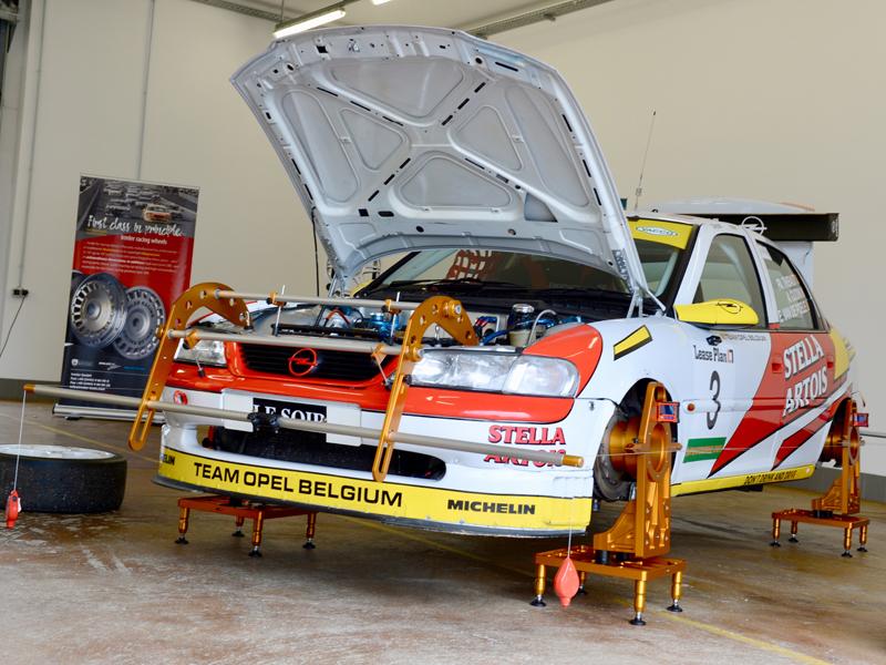 Achsvermessung Motorsport per Setting One by Irmler Racing