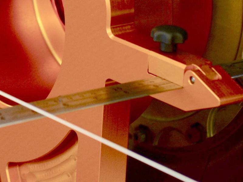 Racing Setup leicht gemacht: Stahlmaßstäbe zum schnellen Ablesen