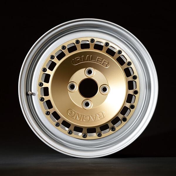 Irmler Racing 15 Zoll-Felge silber mit goldenem IRM-R1-Stern