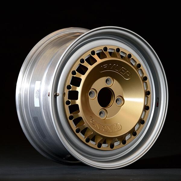 Irmler Racing 15 Zoll Felge IRM-R1 silber/gold