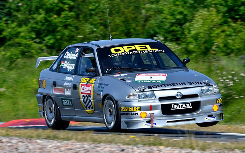Wechselvolle Einsätze für Steffan Irmler und den 1994er Opel Astra Supertourer