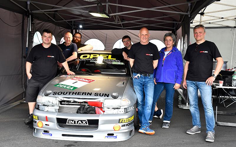 Steffan Irmler und Volker Strycek mit Team