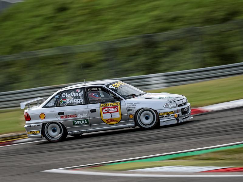 Steffan Irmler bei den DTM Classic 2021 auf dem Nürburgring