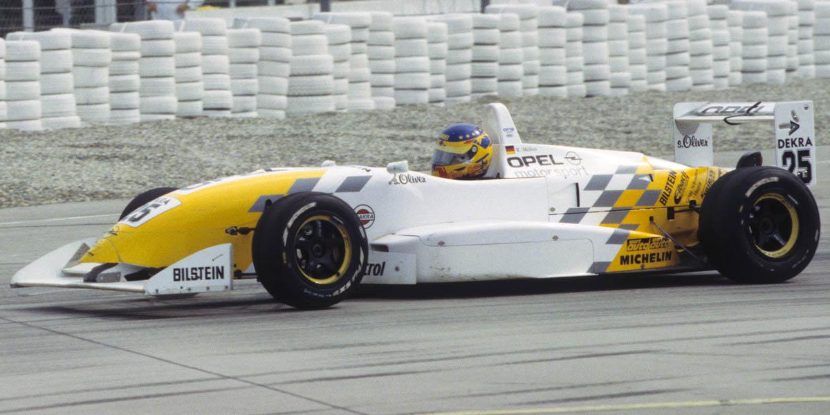 Ronny Melkus Formel 3 DM Opel