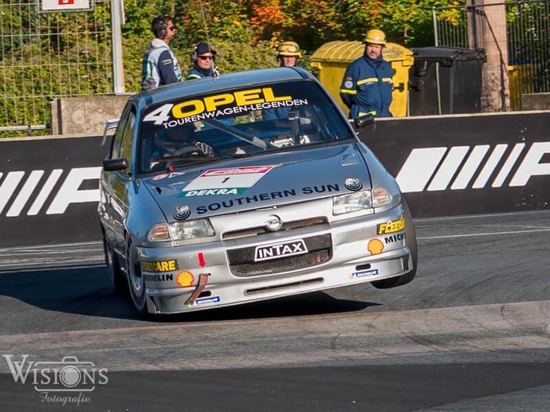 Ronny Melkus im Opel Astra 200 TS auf dem Norisring 2021